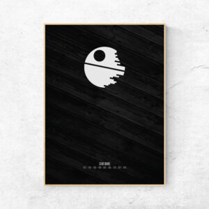 Star Wars Death Star plakat